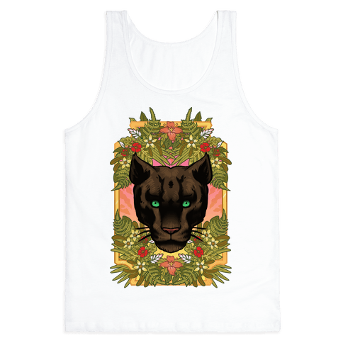 Lurking Panther Tank Top