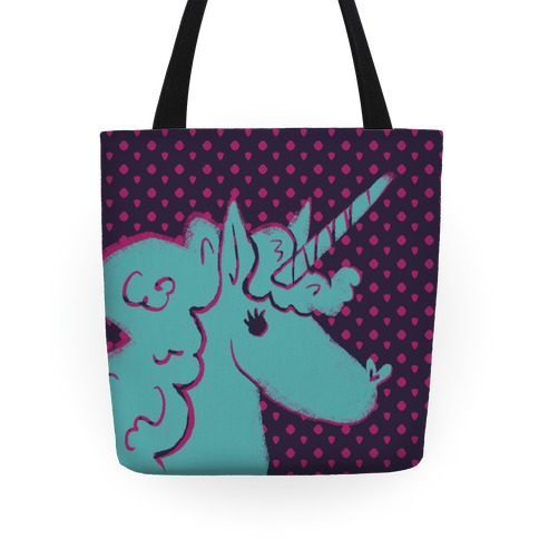 Mythical Blue Unicorn Tote