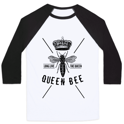 Queen Bee Baseball Tee