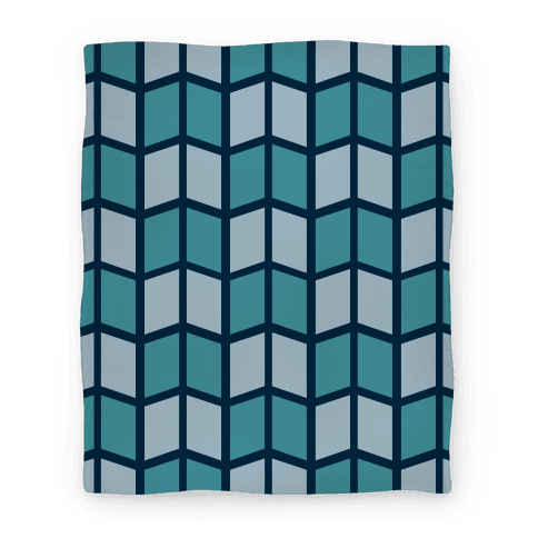 Parallelogram Pattern Blanket Blanket