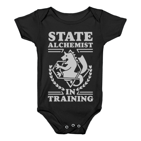 State Alchemist in Training Baby Onesy