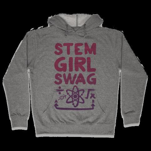 STEM Girl Swag Hooded Sweatshirt