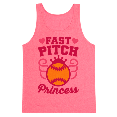 Fast Pitch Princess Tank Top