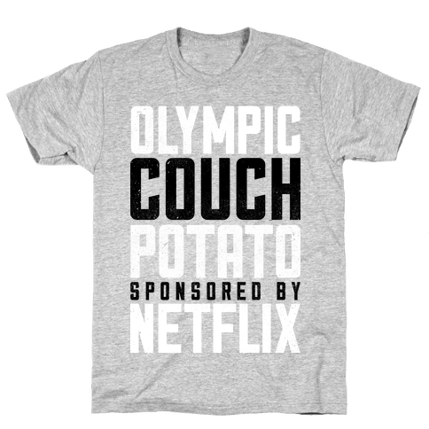Olympic Couch Potato Mens T-Shirt