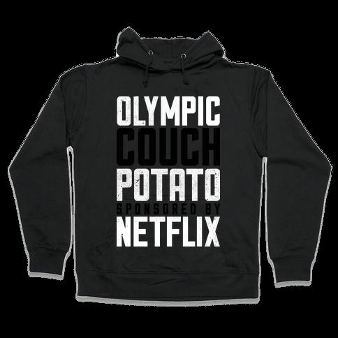Olympic Couch Potato Hooded Sweatshirt