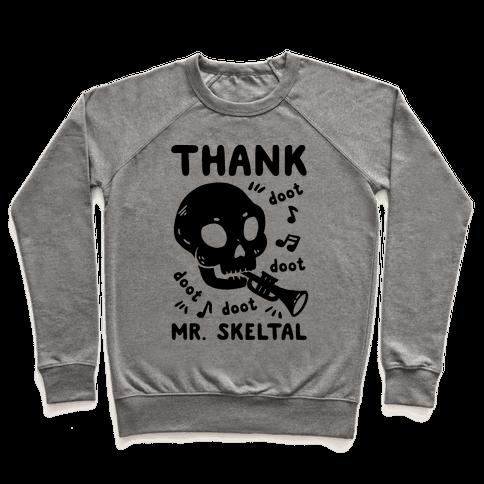 Thank Mr. Skeltal Pullover