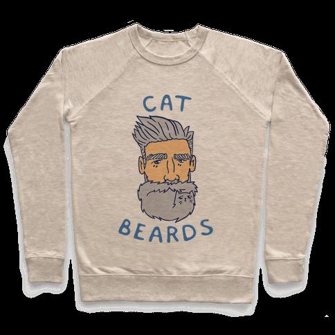 Grey Cat Beards Pullover