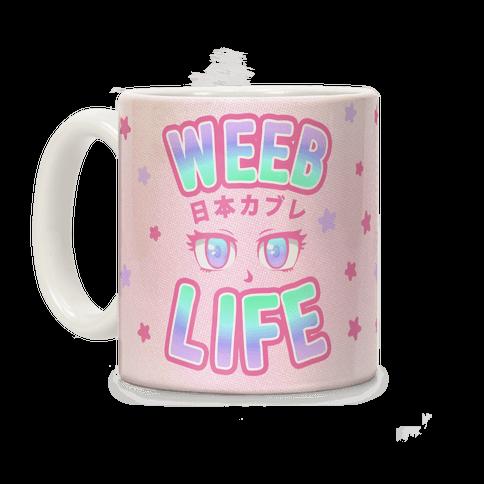 Weeb Life (Thug Life Parody) Coffee Mug