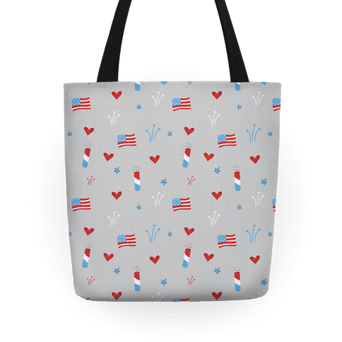 American Pride Pattern Tote