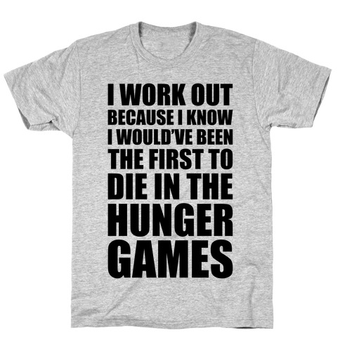 Hunger Games Workout T-Shirt