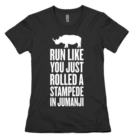 Run Like You Just Rolled A Stampede In Jumanji T Shirt