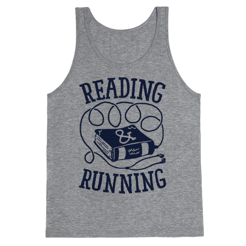 Reading & Running Tank Top