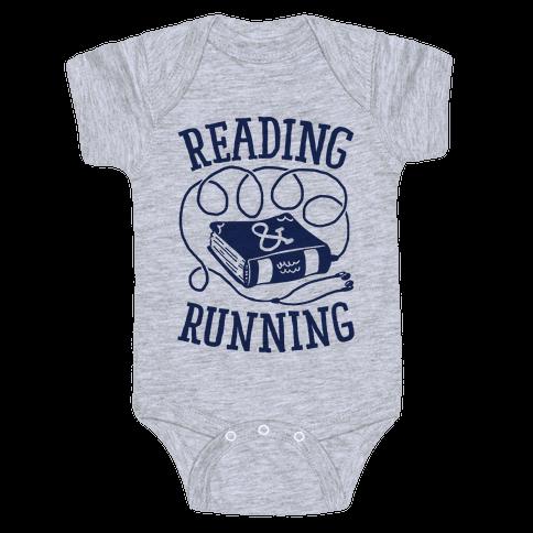 Reading & Running Baby Onesy