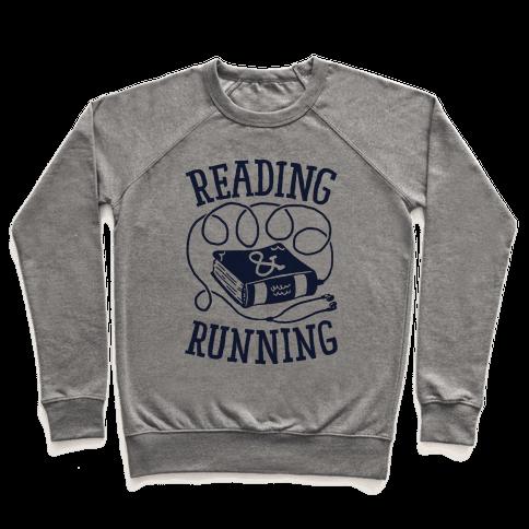 Reading & Running Pullover