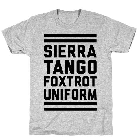 Sierra Tango Foxtrot Uniform T-Shirt