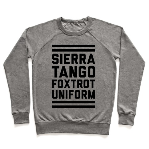 Sierra Tango Foxtrot Uniform Pullover