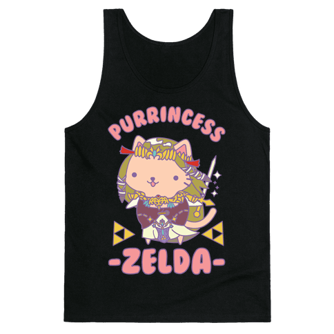 Purrincess Zelda Tank Top