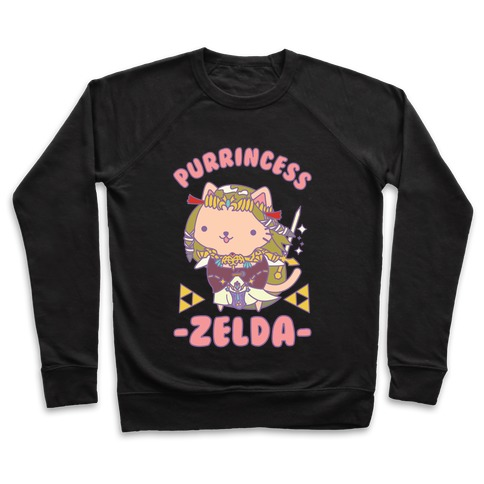 Purrincess Zelda Pullover