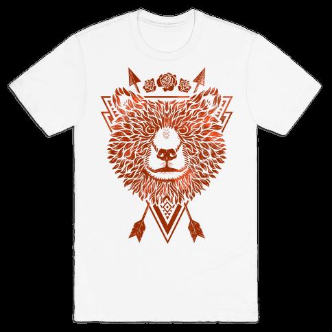 Indie Warrior Bear Mens T-Shirt