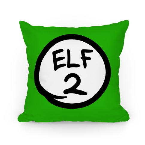Elf Two Pillow