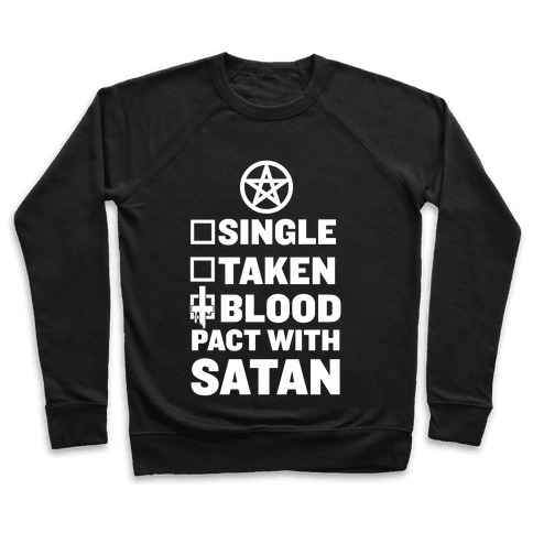 Blood Pact With Satan Pullover