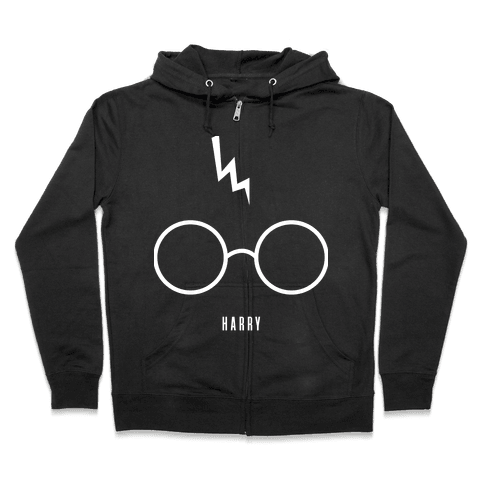 Harry's Bolt (Friend Set) Zip Hoodie