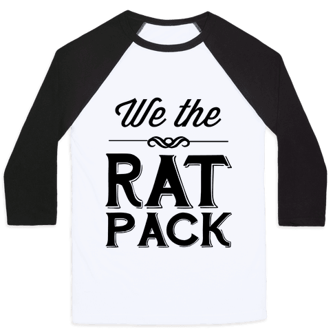 We The Rat Pack Baseball Tee
