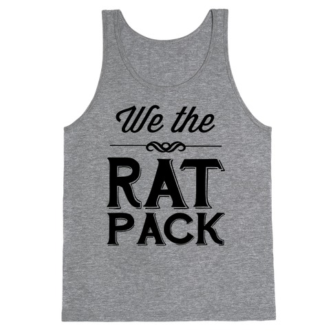 We The Rat Pack Tank Top