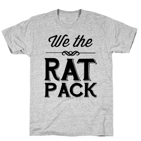 We The Rat Pack Mens T-Shirt