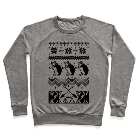 Hogwarts Ugly Christmas Sweater: Hufflepuff Pullover