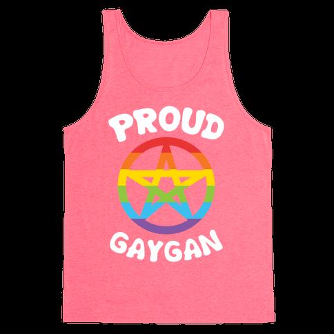 Proud Gaygan Tank Top