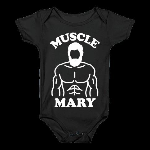 Muscle Mary Baby Onesy