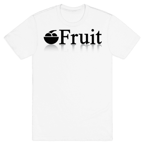 Fruit Computers Mens T-Shirt