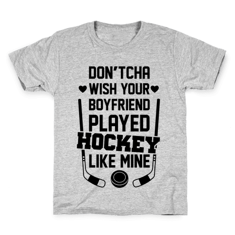Hockey Boyfriend Kids T-Shirt