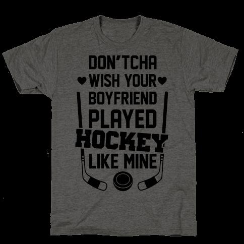 Hockey Boyfriend Mens T-Shirt