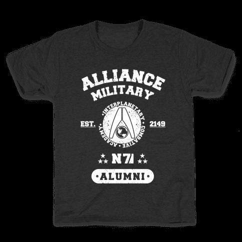 Alliance Military Alumni Kids T-Shirt