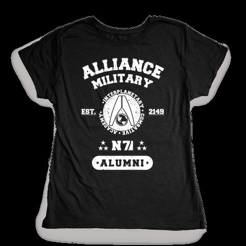 Alliance Military Alumni Womens T-Shirt