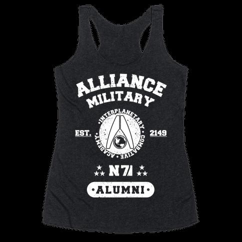 Alliance Military Alumni Racerback Tank Top