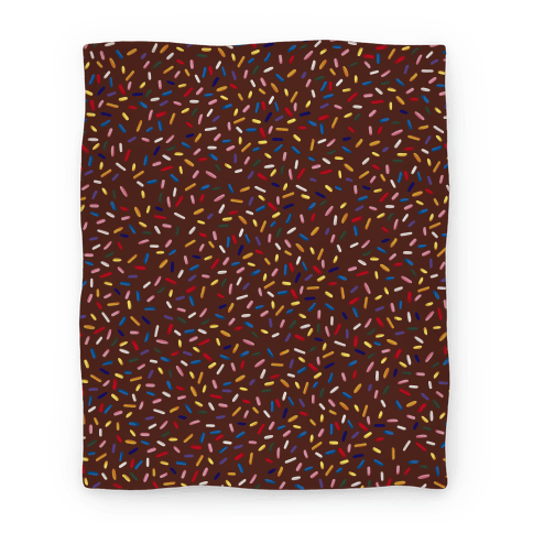 Sprinkle Blanket (Chocolate) Blanket