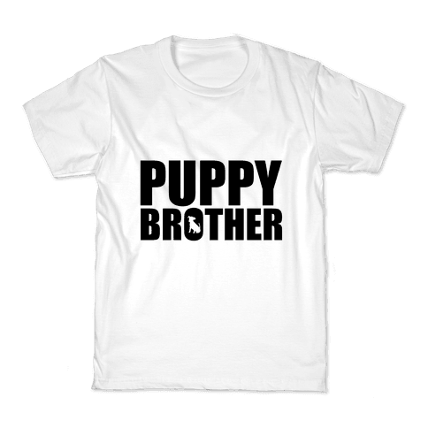 Puppy Brother Kids T-Shirt