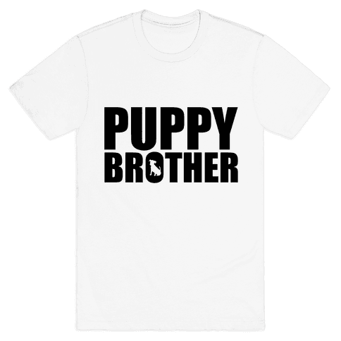 Puppy Brother Mens T-Shirt