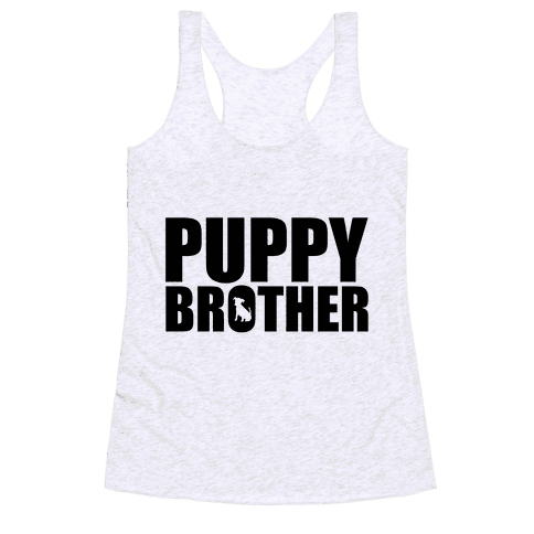 Puppy Brother Racerback Tank Top