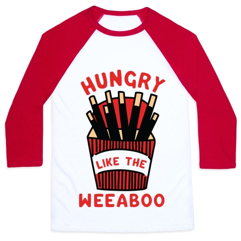 Hungry Like The Weaboo Baseball Tee