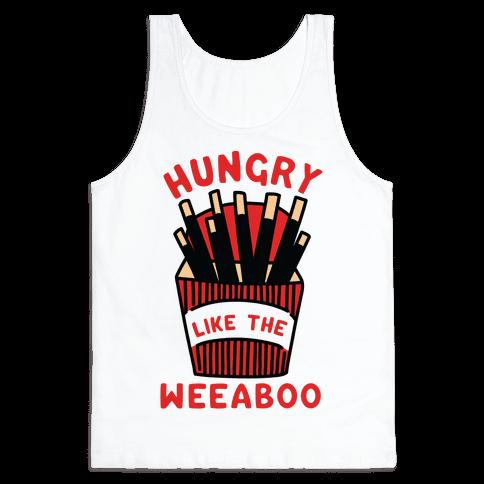 Hungry Like The Weaboo Tank Top