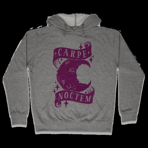 Carpe Noctem Hooded Sweatshirt