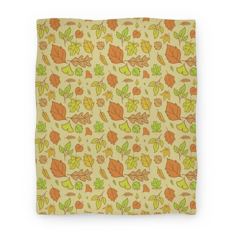 Autumn Leaves Blanket