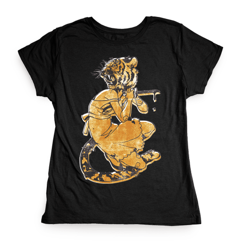Tiger Woman Womens T-Shirt