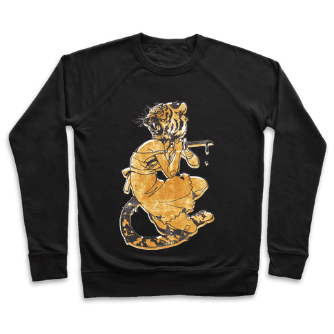 Tiger Woman Pullover