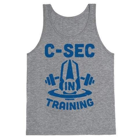 C-Sec In Training Tank Top
