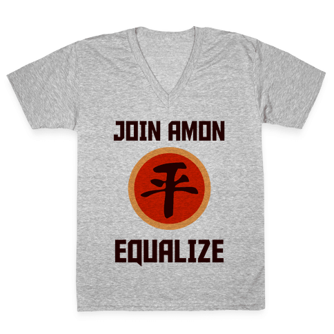 Join The Equalists V-Neck Tee Shirt